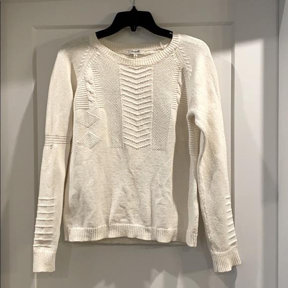 Madewell Ivory Sweater